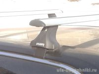 Багажник на крышу Hyundai i40 2015-..., Атлант, крыловидные дуги