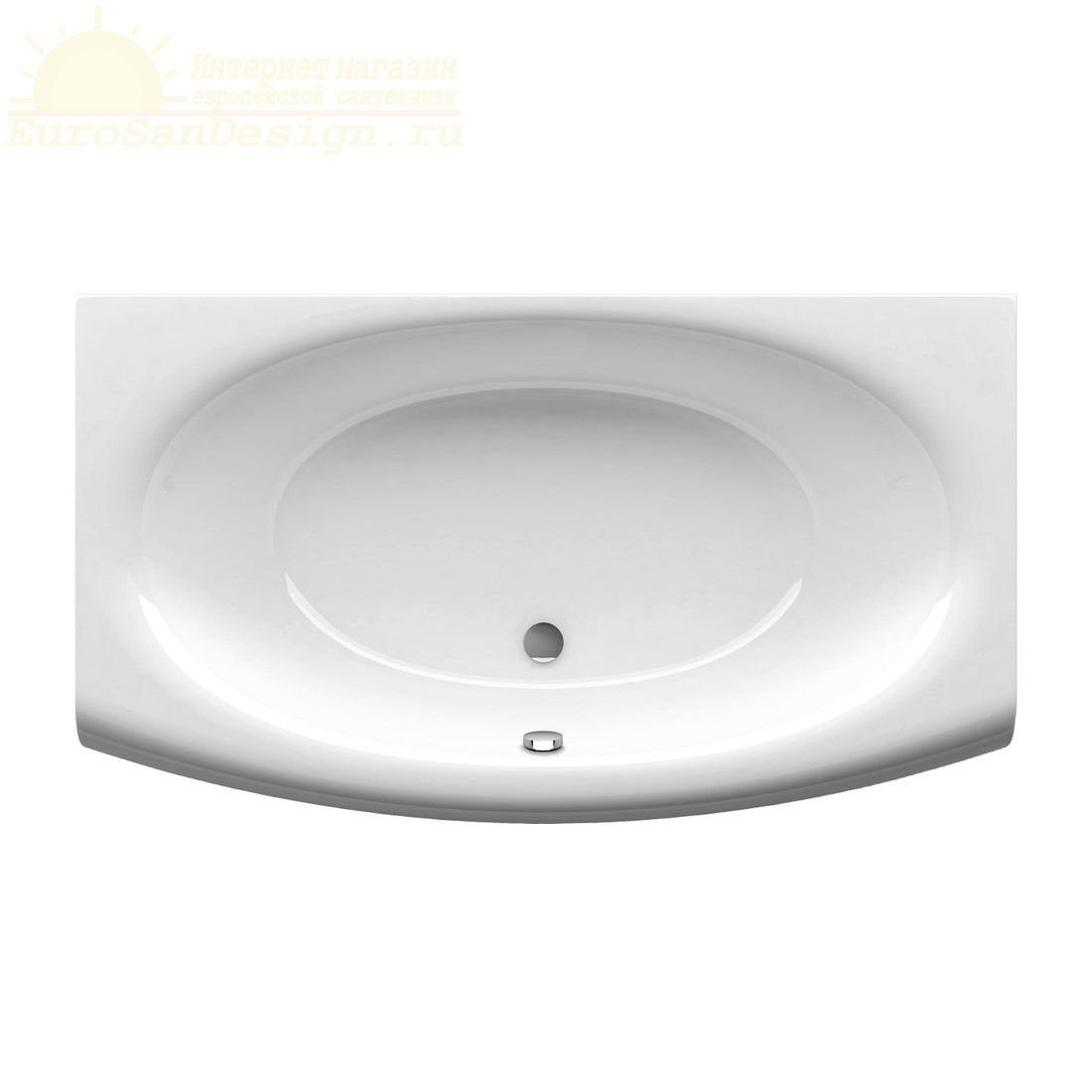 Прямоугольная ванна Ravak Evolution 180x102 ФОТО