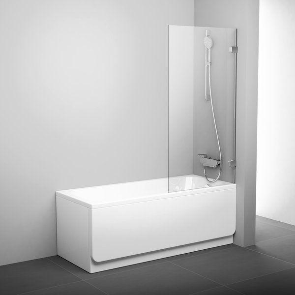 Стеклянная шторка Ravak BVS1 в ванну ФОТО