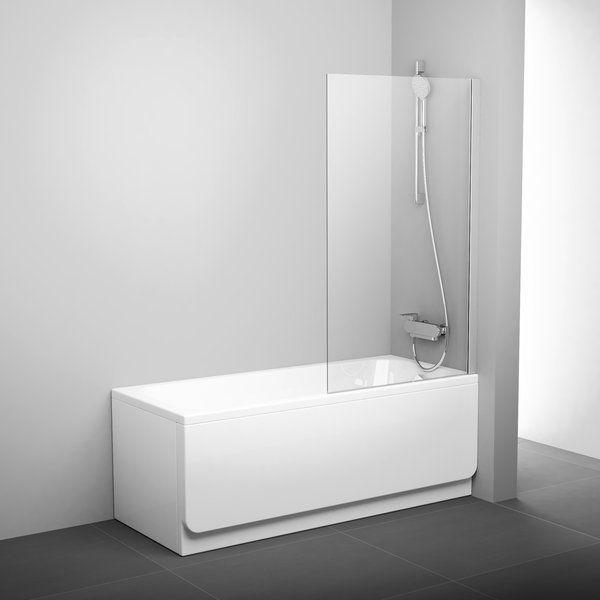 Ravak PVS1 шторка для ванны стеклянная ФОТО