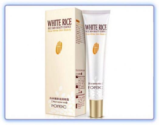 Крем для век с белым рисом Rorec