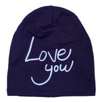 Модная шапка на флисе UNISEX LOVE YOU