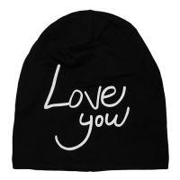 Взрослая шапка UNISEX LOVE YOU на флисе