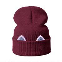 Модная шапка БИНИ УШКИ