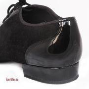 туфли для танцев для мальчика из нубука