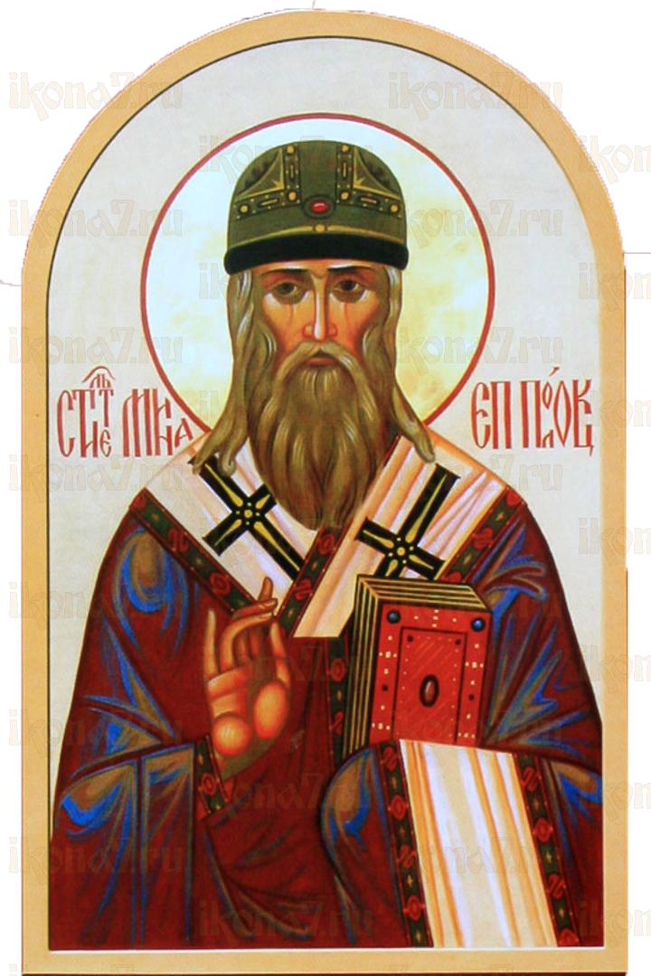 Икона Мина Полоцкий святитель