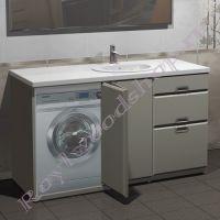 """Тумба для ванной под стиральную машину """"Глосси-С 150"""