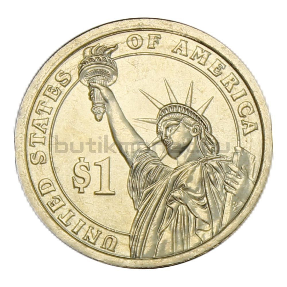 1 доллар 2013 США Теодор Рузвельт (Президенты США)