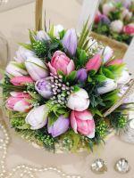 Букет из мыльных тюльпанов