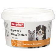 Beaphar Brewers Yeast Tablets с чесноком для кошек и собак, 250т