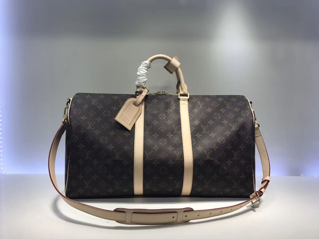 Сумка дорожная Louis Vuitton Keepall 50 Monogram Canvas