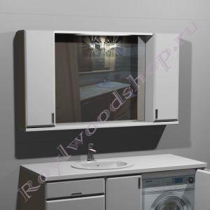 """Зеркало- шкаф для ванной  """"Глосси-С бюджет150"""