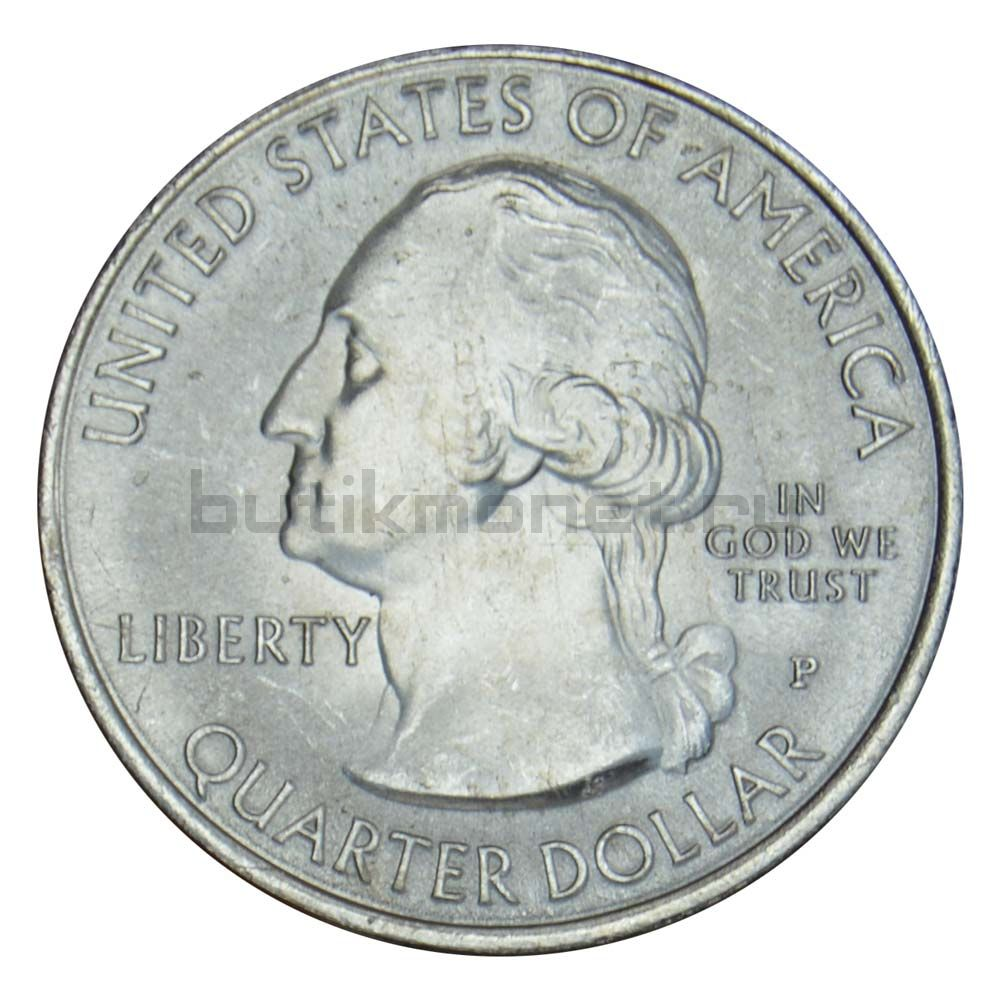 25 центов 2016 США Национальный исторический парк Харперс Ферри P