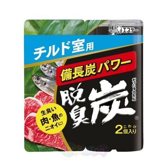 """ST Поглотитель запахов для охлаждающих камер """"DASHU - TAN"""" (угольный), 2 шт*55 г"""