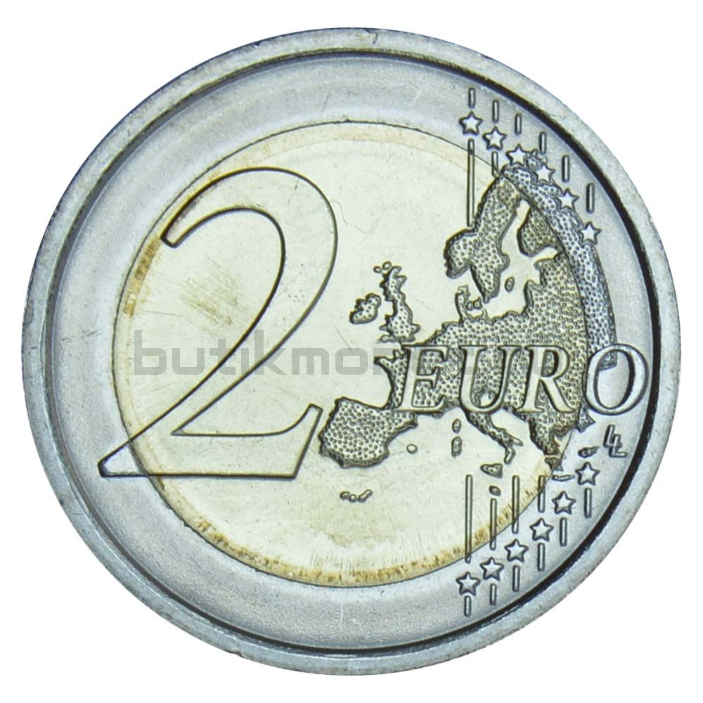 2 евро 2019 Италия Леонардо да Винчи