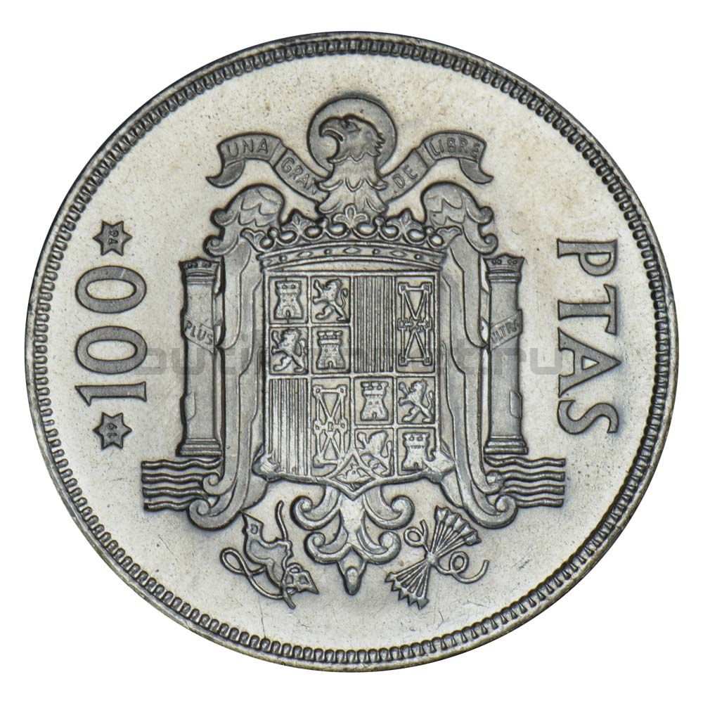 100 песет 1975 Испания