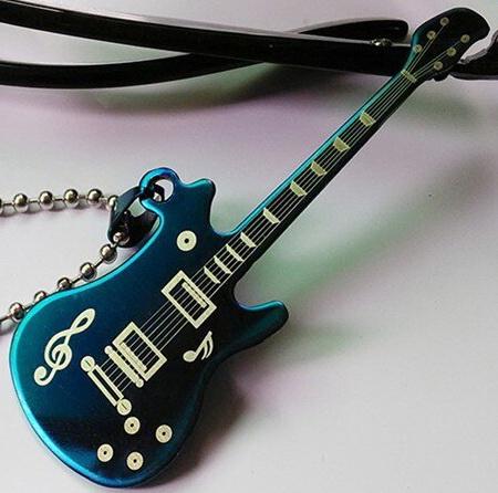 Кулон Гитара на цепочке