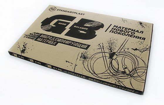 StP GB 2 лист 0,75х0,47 м. Упаковка 10 листов