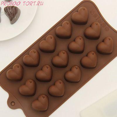 Форма для шоколада и карамели СЕРДЦА