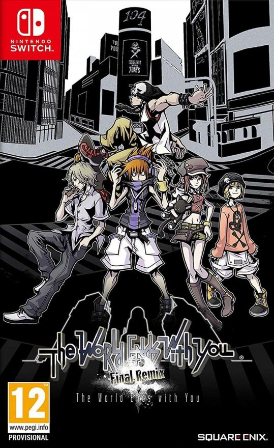 Игра The World Ends with You: Final Remix (Nintendo Switch)
