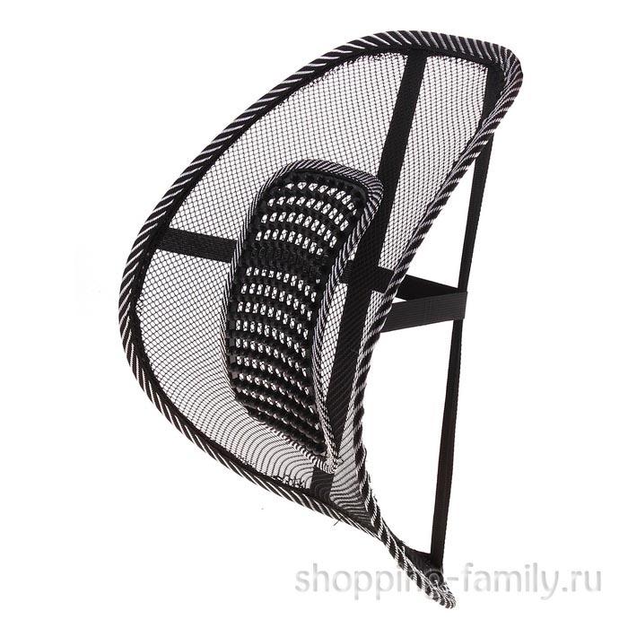 Ортопедическая массажная спинка-подушка на сиденье