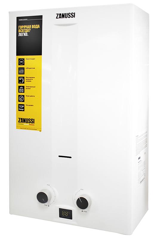 Проточный водонагреватель Zanussi GWH 10 FONTE TURBO