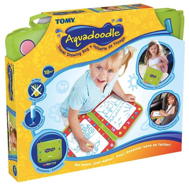 """Tomy Игровой коврик в чемоданчике для рисования водой """"Аквадудл Путешествие"""""""