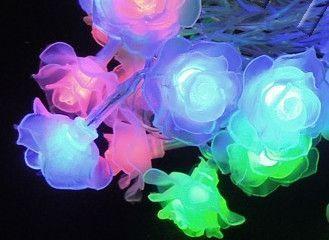 Электрическая светодиодная гирлянда Роза