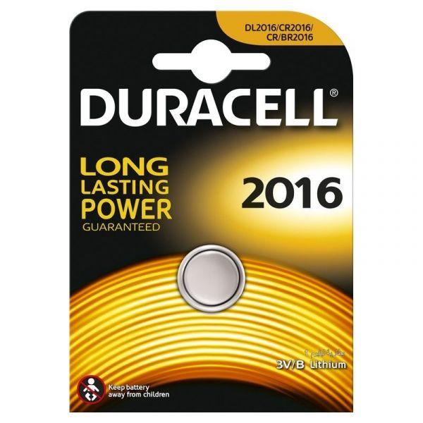 Элемент питания Duracell CR2016 BL1 литиевый дисковый