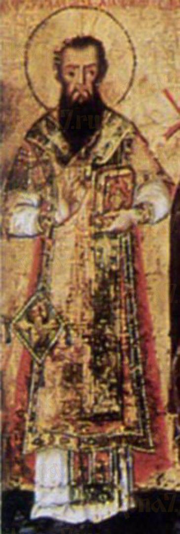 Икона Максим Новый (Бранкович) святитель
