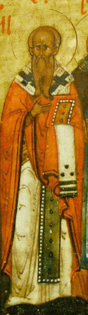Икона Агапит  Римский святитель