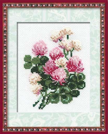 Набор для вышивания крестом Клевер №574 фирма Риолис