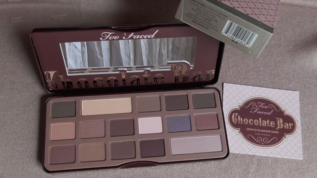Палетка теней TF Chocolate Bar 16 Color Eye Shadow Palette