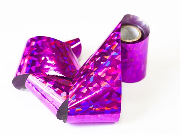 Фольга цветная переводная 1м (цвет в ассортименте)
