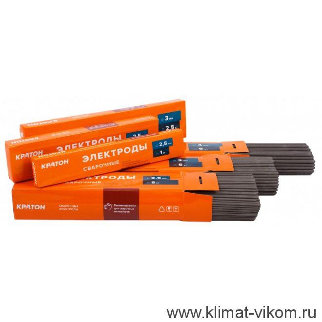 Электрод для дуговой сварки 2,5 мм КРАТОН 1 кг