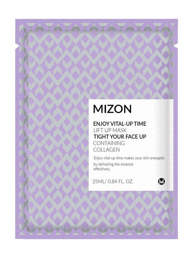 Маска тканевая с лифтинг эффектом Mizon Dust Clean Up Lift Up Mask