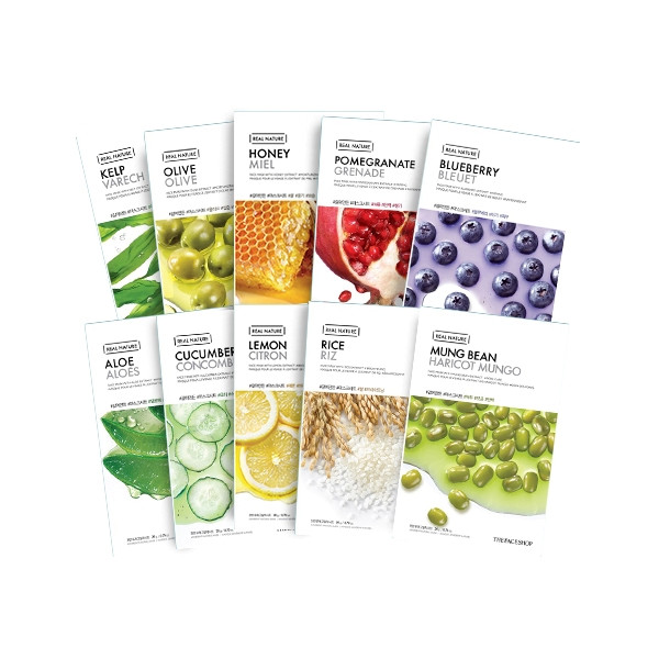 Листовая маска The Face Shop Real Nature Mask