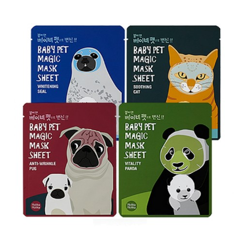 Листовая маска Holika Holika Baby Pet Magic Mask Sheet