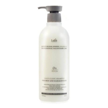 Шампунь для волос La'dor Moisture Balancing Shampoo 530 мл