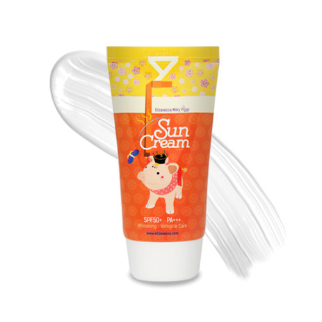 Солнцезащитный крем с коллагеном Elizavecca Milky Piggy Sun Cream SPF50+ PA+++