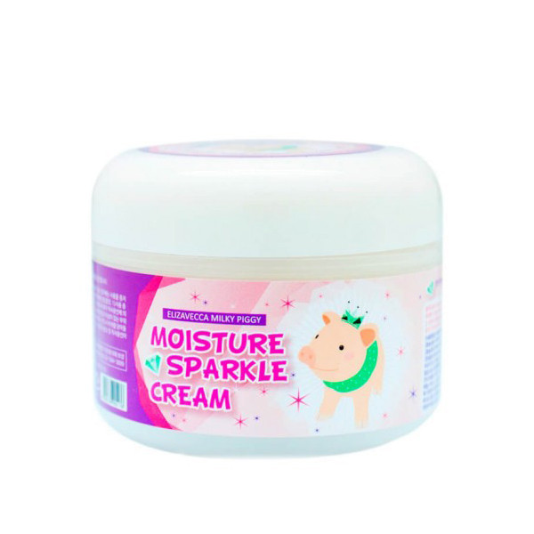 Увлажняющий крем для лица Elizavecca Milky Piggy Moisture Sparkle Cream