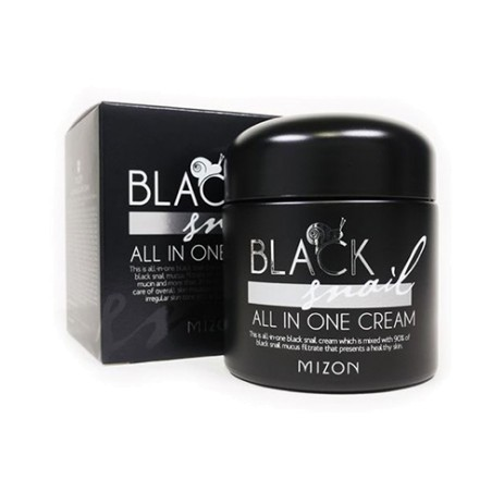 Крем для лица Mizon Black Snail All In One Cream 75ml