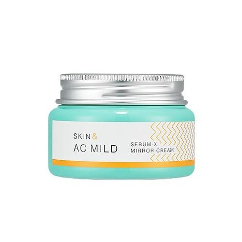Крем-гель для лица Holika Holika Skin & AC MILD Sebum – X Mirror Cream