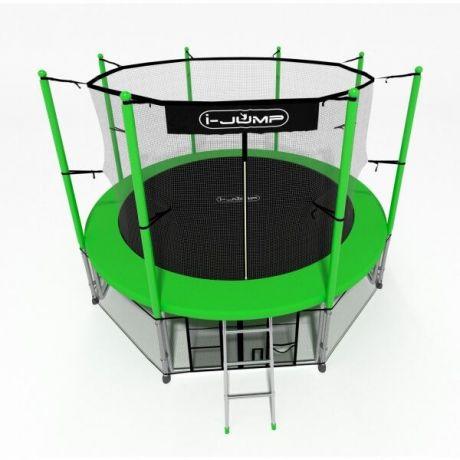 Батут для дачи i-Jump 14ft green