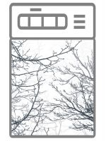 Наклейка на посудомоечную машину  - Ветки