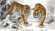 ТТ005 Барвиста Вышиванка. Уссурийские Тигры. А2 (набор 1725 рублей)
