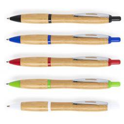 шариковые ручки из бамбука