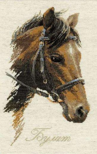 Набор для вышивания крестом Булат №826 фирма Риолис