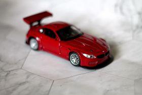 Модель машины металлическая BMW Z4 1:32 красная