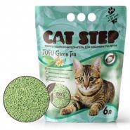 CAT STEP Tofu Green Tea Растительный комкующийся наполнитель, 6л